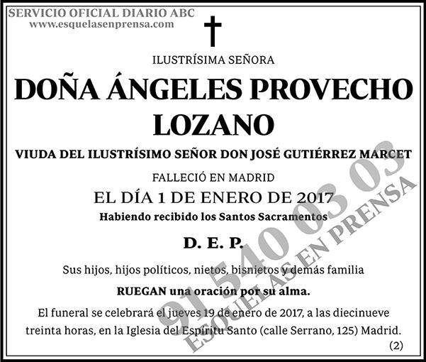 Ángeles Provecho Lozano